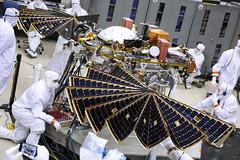 InSight Solar Array Deployment Test (Lockheed Martin) Tags: insight1232018 solarpaneldiployment insight mars lander lockheedmartin lockheed martin space nasa jpl