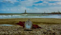 Alanya (ibrahim.koyun) Tags: alanya alaiye antalya turkey türkiye turkei beach deniz sea clock time sky wave sahil nikon d7100 dalga day cloud autumn winter