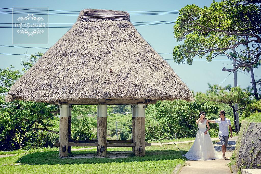 座喜味城跡,沖繩,婚紗,攝影,海外,日本,寫真,婚禮,自助