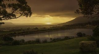 Sunset @ Cape Vinyards