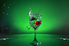IMG_2928 (Vishal Singh Chauhan Photography) Tags: canon eos6d splash water strawberry flash action green