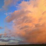 Panoramic sunset thumbnail