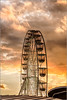 Wheel at sunset (mikeyp2000) Tags: sky clouds ride sunset evening wheel