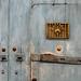 Green Door, Gold Grate, Cartagena  Colombia