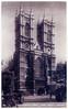 London - Westminster Abbey Prior to 1937 (pepandtim) Tags: postcard old early nostalgia nostalgic london westminster abbey 1937 carlisle road romford essex 12121937 dennis birthday hainsley nada 45lwa23 vintage car