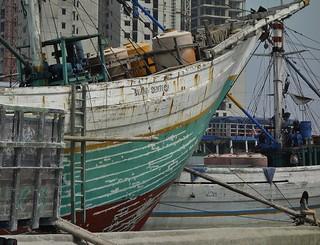 Indonesien, JAVA , Jakarta - Frachtenseglerhafen  Sunda Kelapa , 17020/9472