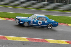 Ford Mustang Shelby GT350 (aguswiss1) Tags: ford shelby classcicar carspotting sportscar spaclassic rain racer car gt350 spafrancorchamps wet dreamcar eaurouge racecar mustang