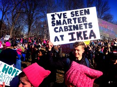 smarter cabinets (christaki) Tags: dc smart cabinets ikea protest resist womensmarch
