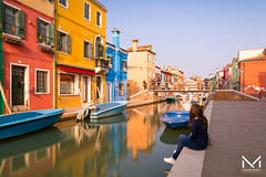 _MBP3532-1 (manuelbinettiphotography) Tags: burano venice love river bridge city cityscape color image colorful colors colours boat boats person long exposure sun sunlight lovely italy italia veneto venezia ponte home house reflection reflections calle canale