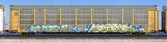 More/Kick (quiet-silence) Tags: graffiti graff freight fr8 train railroad railcar art autorack more kick awr msk seventhletter railheads rtd bnsf ttgx994799