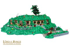 Bag End (-Balbo-) Tags: lego moc bauwerk creation herr der ringe lordoftherings hobbit shire auenland bag end beutelsend frodo bilbo balbo green dragon inn sandyman´s mill hobbiton hobbingen gandalf h exploring