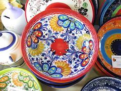 CERAMICA DE BAILÉN EN LA FERIA DE MUESTRAS DE ASTURIAS (mflinera) Tags: ceramica bailén feria de muestras asturias colores