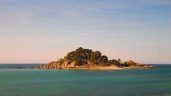 Small island (.Stevve) Tags: france sunset frankreich sonnenuntergang insel island isle bäume trees bretagne brittany