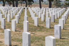 Little Big Horn Battlefield National Cemetery (grimeshome) Tags: custer cemetary grave national littlebighorn