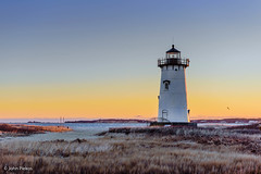 Winter  Dawn At Edgartown Lighthouse (John Piekos) Tags: grass shoreline d750 nikon winter dawn edgartown cold edgartownlight coastline water lighthouse negativespace beach 2470mm coast marthasvineyard sunrise