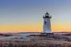 Winter  Dawn At Edgartown Lighthouse (John Piekos) Tags: grass shoreline d750 nikon winter dawn edgartown cold edgartownlight coastline water lighthouse negativespace beach 2470mm coast marthasvineyard sunrise