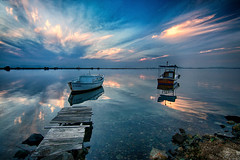 ALTINOVA, AYVALIK (by_COSKUNTUNA ... 3.699.000 THANK YOU) Tags: coskuntuna eralpege turkey türkiye travel random reflection rainbow bravo ege 3e eos70d canon70d clouds colouds sunset sea sky siluet visit view beauty beautiful blue boat nature landscapes