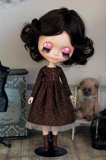 Retro-dress for Blythe