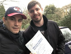 Congratulations Joseph Dasaro passing his practical test on his first attempt with only two minor faults.   www.leosdrivingschool.com