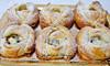 Roselline di sfoglia con ricotta e gocce di cioccolato (Le delizie di Patrizia) Tags: roselline di sfoglia con ricotta e gocce cioccolato le delizie patrizia ricette dolci dessert