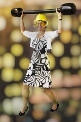 Disco Queen (JP Korpi-Vartiainen) Tags: finland pohjoissavo feast juhla kes㤠kesã¤inen perhejuhla summer tapahtuma power weightlifter painonnostaja painonnosto weightlifting woman nainen hauska funny