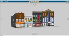 Ideas for 2018 (LegoEng) Tags: american america 50s 1950s shop building house cinema tv classic americana lego legoeng
