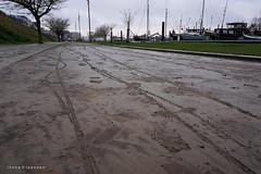 After the flood (Ineke Klaassen) Tags: flood nijmegen mud modder nederland path pad modderspoor mudtrack lindenberghaven sony sonyimages sonya6000 sonyalpha sonyalpha6000 sonyilce6000 ilce blubber overstroomd overstroming hoogwater gelderland 1025fav 10faves 15faves