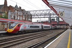 Virgin Trains Pendolino 390129 City of Stoke-on-Trent (Will Swain) Tags: crewe station 9th october 2017 train trains rail railway railways transport travel uk britain vehicle vehicles country england english cheshire north west south county virgin pendolino 390129 city stokeontrent class 390 129