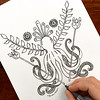 Mythos (hangtightstudio) Tags: design designer surfacedesign sketch sketchbook shareyoursketch drawing draweveryday draw illustration artlicensing spoonflower octopus greek patterndesign textiledesign fabricdesign create dowhatyoulove heatherdutton hangtightstudio mythology