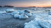 Ice Age (Mika Laitinen) Tags: balticsea canon5dmarkiv europe finland helsinki leendgrad scandinavia uutela vuosaari cloud cold color frozen ice landscape nature outdoors rock sea seascape sky sunset water winter helsingfors uusimaa fi