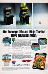 Teenage Mutant Ninja Turtles II - The Arcade Game (justinporterstephens) Tags: teenagemutantninjaturtles nes retrogames ad videogames