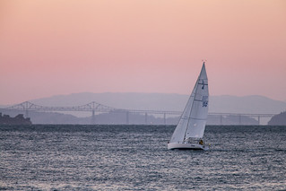 sunset sail and Richmond Bridge
