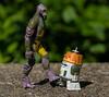 Stupid Droid (atari_warlord) Tags: 375 actionfigure astromech c110p chopper droid garazeborrelios hasbro phantom rebels starwars zeb