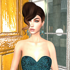 LuceMia - .:JUMO:. (MISS V♛ ITALY 2015 ♛ 4th runner up MVW 2015) Tags: jumo sl new fashion hair bijou hanna gown mesh creations hud models lucemia jewelry earrings