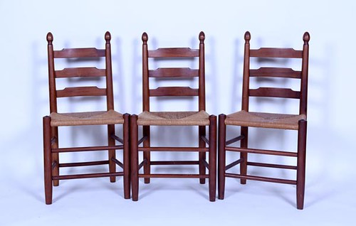 Clore Ladderback Chairs ($560.00)