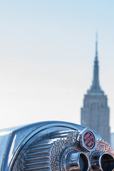 Turn to clear vision (marktmcn) Tags: tower optical coinoperated binocular viewer silver periscope binoculars view empire state building new york city nyc turn clear vision top rock rockefeller center roof d610 nikkor 28300mm