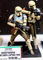 2017-Star Wars Shoretroopers Statues by Artfx at SDCC-01 (David Cummings62) Tags: sandiego ca calif california comiccon con david dave cummings 2017 statue starwars movie movies artfx shoretroopers