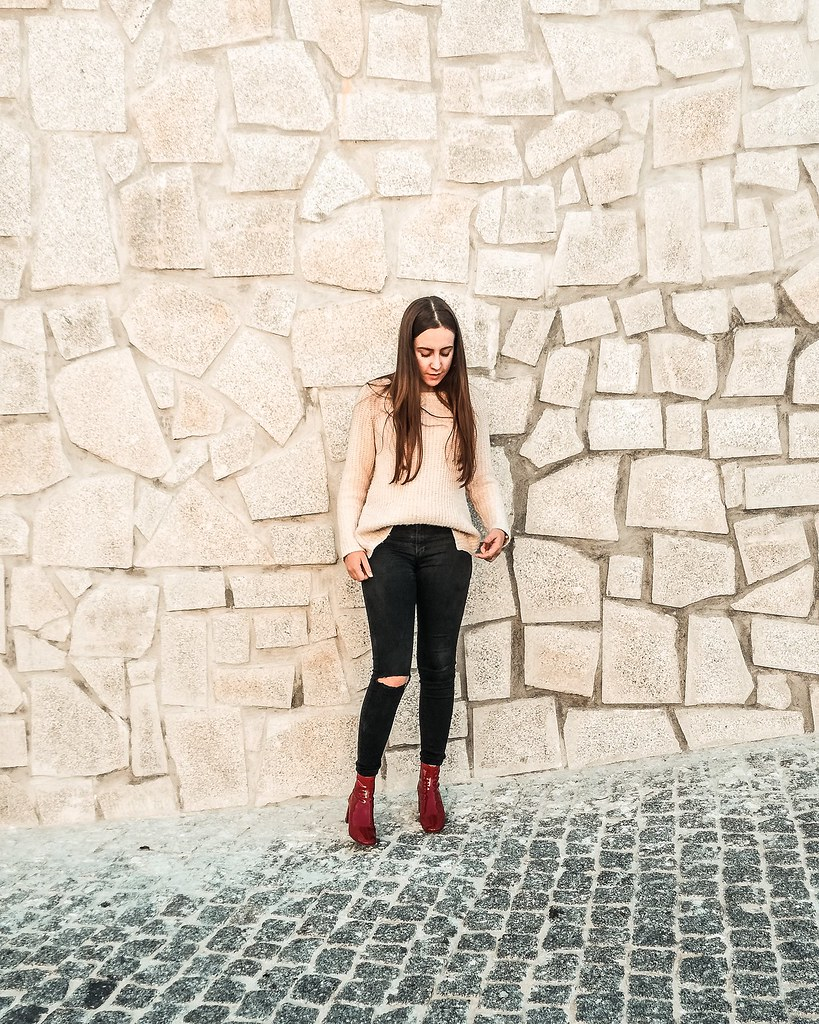 look_botas_vermelhas_vinil_bershka_3