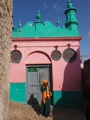 Often referred to as Africa's Mecca, Harar boasts 82 mosques (alainloss) Tags: ethiopia eastern harar jugol africasmecca 82mosques painted