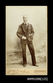 Supernumary second officer Mr Redgraves of the MACQUARIE, 1899