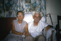 Great Grandparents (Rick Olsen) Tags: portrait kodachrome 35mm