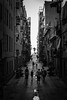 >>> The Streets <<< (Harjodik) Tags: quay barcelona spain catalonia streets city life mono btw black white daylight natural people walking sony alpha a7 55mm tonality honeymoon wanderlust