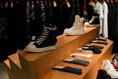 Hidden Interactives at Stashed in San Francisco (ideum) Tags: ideum led interactivedesign apparel innovation design sanfrancisco industrialdesign shoes sneakers store boutique interactive