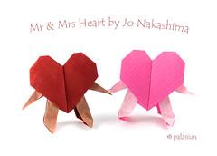 heart origami (polelena24) Tags: origami heart valentine square onesheet jonakashima