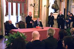 Cardinale9 (Genova città digitale) Tags: genova cardinale angelo bagnasco vescovo arcivescovo comune sindaco visita inizio anno marco bucci gennaio 2018 palazzo tursi