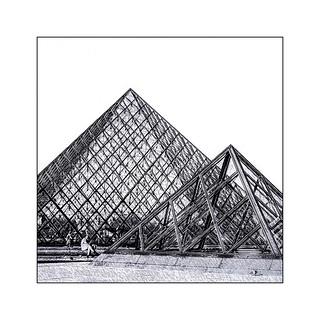 Série Pyramide du Louvre : N° 24