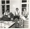 Home Ec (STUDIOZ7) Tags: women girls teens teenager smoking smoker cigarette apron kitchen food denmark 1950s fifties 50s 1960s 60s sixties