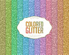 """Colored Glitter Textured Digital Paper """"Colored Glitter"""" shining colored backgrounds, colorful vibrant textures (Digiworkshop) Tags: etsy digiworkshop scrapbooking illustration creative clipart printables cardmaking texture digital background paper glitter shining vibrant colorful color rainbow"""