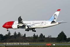 B787-8 LN-LNE NORWEGIAN (shanairpic) Tags: jetairliner b787 boeing787 shannon norwegian lnlne