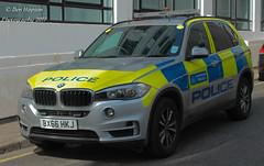BX66 HKJ (Ben Hopson) Tags: metropolitan met police bmw x5 arv armed response vehicle anpr automatic number plate recognition camera base 999 amber beacon orange blue lights sirens bx66hkj